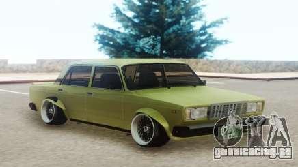 ВАЗ 2107 Оливковый для GTA San Andreas