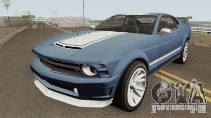 Ford Mustang GT Fastback для GTA San Andreas