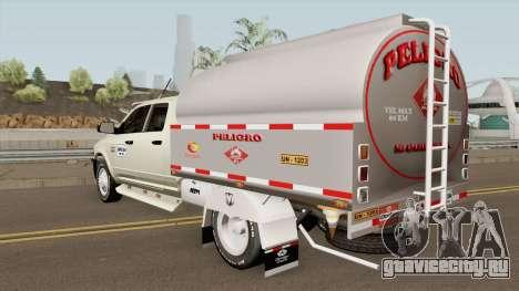 Dodge Ram Camion Cisterna для GTA San Andreas