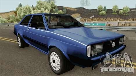 Volkswagen Voyage Los Angeles 1985 для GTA San Andreas