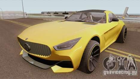 Benefactor Schlagen GTR GTA V IVF для GTA San Andreas