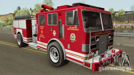 MTL Firetruck GTA V для GTA San Andreas