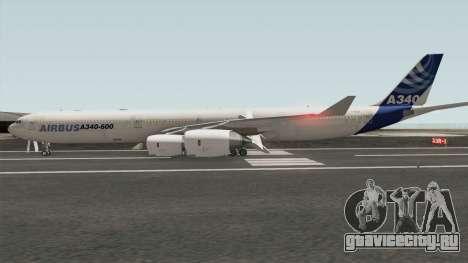 Airbus A340-600 для GTA San Andreas
