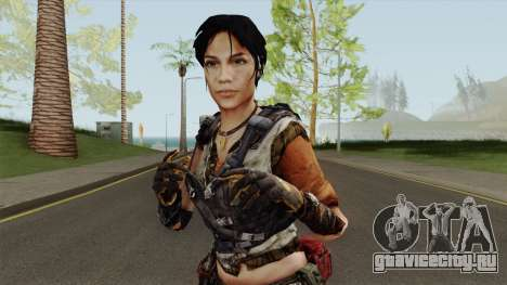 Rianna From Homefront для GTA San Andreas