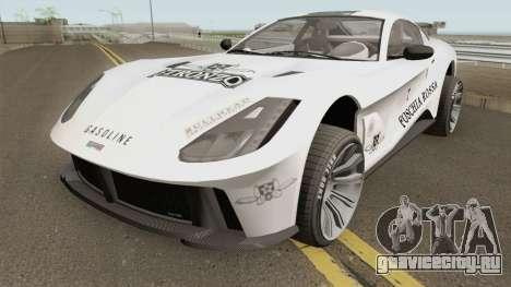 Grotti Itali GTO Stock GTA V IVF для GTA San Andreas