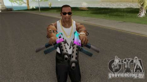 SMG GTA V для GTA San Andreas