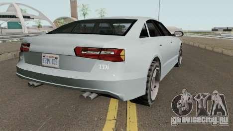 Audi A6 LQ V2 Tunable для GTA San Andreas