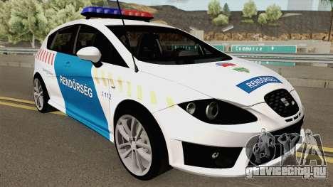 Seat Leon Cupra Magyar Rendorseg (Fixed) для GTA San Andreas
