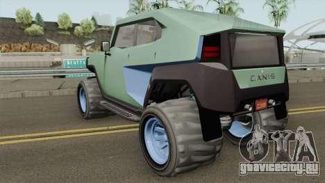 Canis Freecrawler GTA V для GTA San Andreas