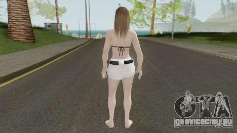 Hitomi Hot Getaway Costume V3 для GTA San Andreas