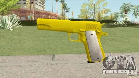 COLT M1911 Gold для GTA San Andreas