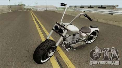 Western Motorcycle Zombie Chopper GTA V для GTA San Andreas