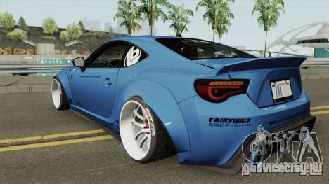 Toyota GT86 Liberty Walk для GTA San Andreas