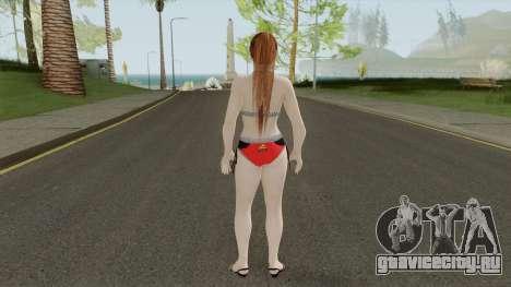 Kasumi Racing Car Girl для GTA San Andreas