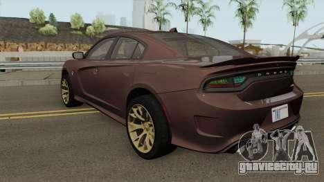 Dodge Charger Hellcat 2015 для GTA San Andreas