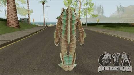 Half Fish-Man Or Moat Monster для GTA San Andreas