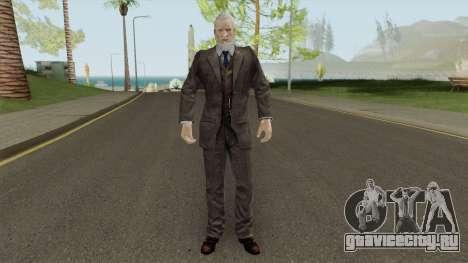 Morgan Lansdale From Resident Evil: Revelations для GTA San Andreas