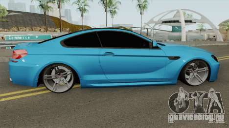 BMW M6 SlowDesign 2013 для GTA San Andreas