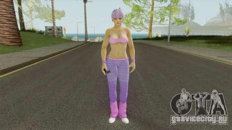 Ayane DOA5 Reskinned для GTA San Andreas