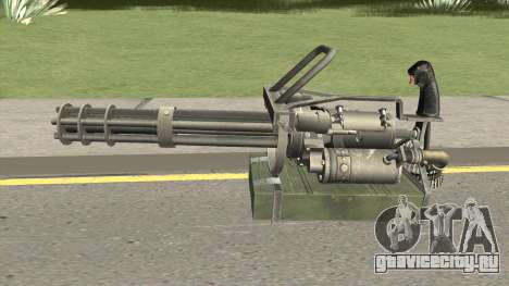 M-134 Minigun Default Design для GTA San Andreas