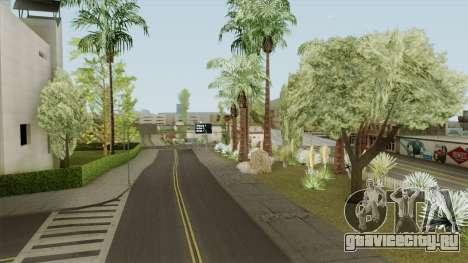 Mobile Vegetation for PC для GTA San Andreas