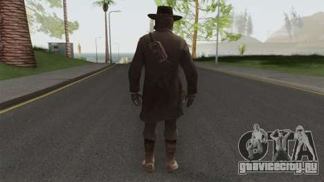 John Marston Deadly Assassin Outfit From RDR 2 для GTA San Andreas