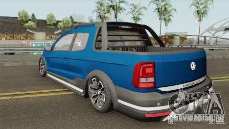 Volkswagen Saveiro Cross Pickup Low для GTA San Andreas