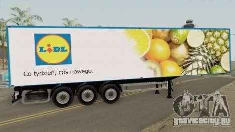 Polish Supermarkets Trailer для GTA San Andreas