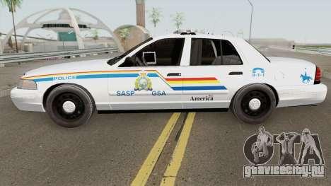 Ford Crown Victoria 2011 SASP RCPM для GTA San Andreas