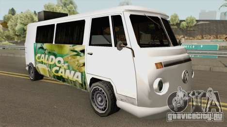 Volkswagen Kombi (Camper) TCGTABR для GTA San Andreas
