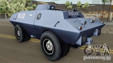 BETA Swatvan для GTA San Andreas