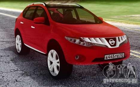 Nissan Murano для GTA San Andreas