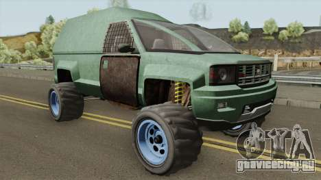 Declasse Brutus Apocalypse GTA V для GTA San Andreas