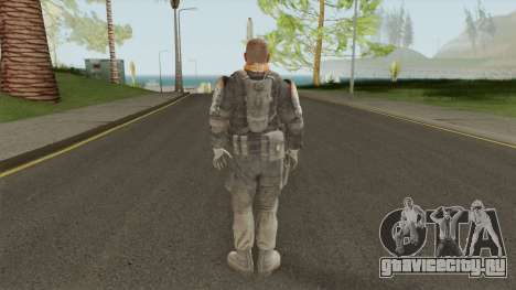 Officer The Zulu Squad (Spec Ops: The Line) для GTA San Andreas