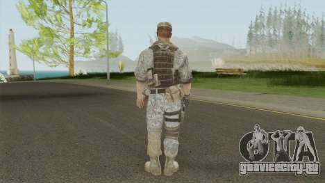 Skin 1 (Spec Ops: The Line - 33rd Infantry) для GTA San Andreas