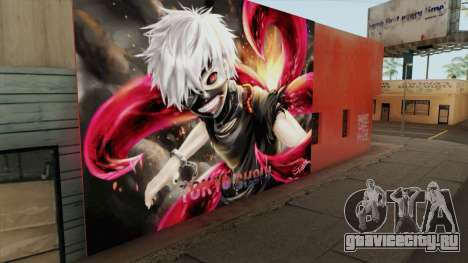 Tokyo Ghoul Kaneki Ken Wall для GTA San Andreas