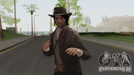 John Marston Elegant Outfit From RDR 2 V1 для GTA San Andreas