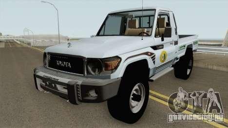 Toyota Land Cruiser Bajos Recursos для GTA San Andreas
