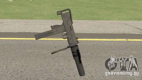 MAC-10 Suppressed HQ для GTA San Andreas