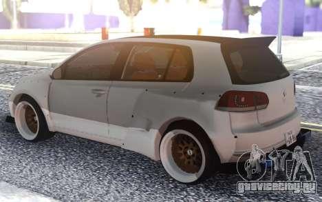 Golf GTI для GTA San Andreas