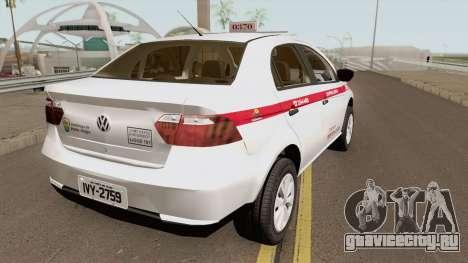 Volkswagen Voyage (Taxi) Cidade de Porto Alegre для GTA San Andreas