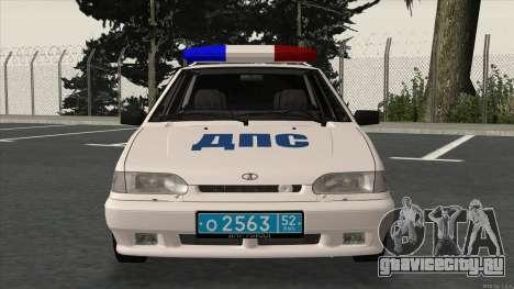 ВАЗ 2115 ОБ ДПС ГИБДД для GTA San Andreas