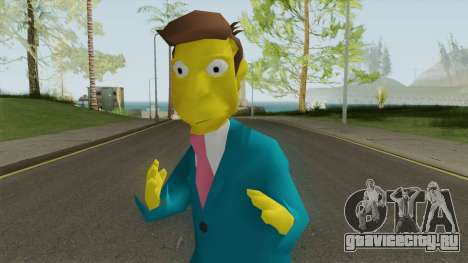 Seymour Skinner - Simpsons Hit and Run для GTA San Andreas
