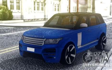 Range Rover Vogue L405 Startech для GTA San Andreas
