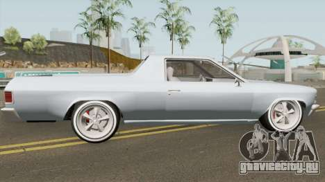 Chevrolet El Camino SS 396 (Picador Style) 1968 для GTA San Andreas