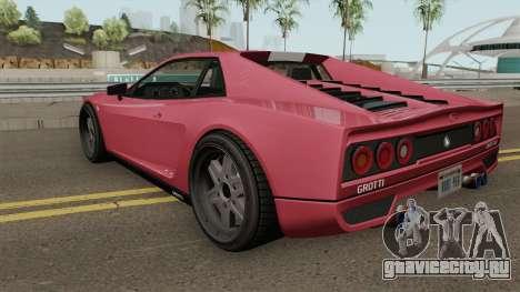 Grotti Cheetah Classic GTA V для GTA San Andreas