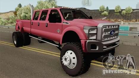 Ford Super Duty MegaCAB для GTA San Andreas