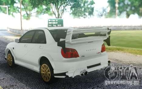 Subaru WRX STI для GTA San Andreas