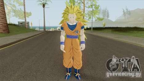 Goku SSJ3 для GTA San Andreas