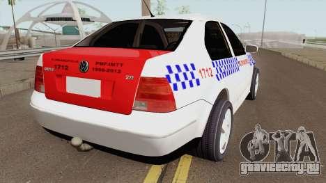 Volkswagen Bora Taxi Florianopolis для GTA San Andreas